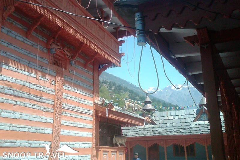 images of Kothi Mata Temple Reckong Peo