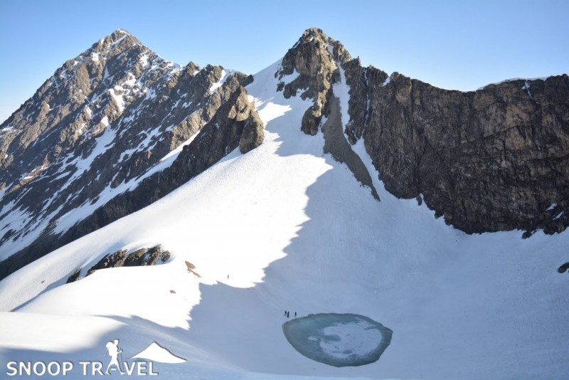 images of Roopkund Lake